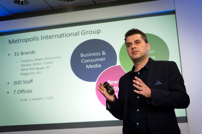 Guest speaker at the IIN Marketing Conference 2016, London