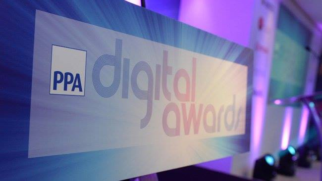 Been shortlisted for 3 PPA Digital Awards 2016